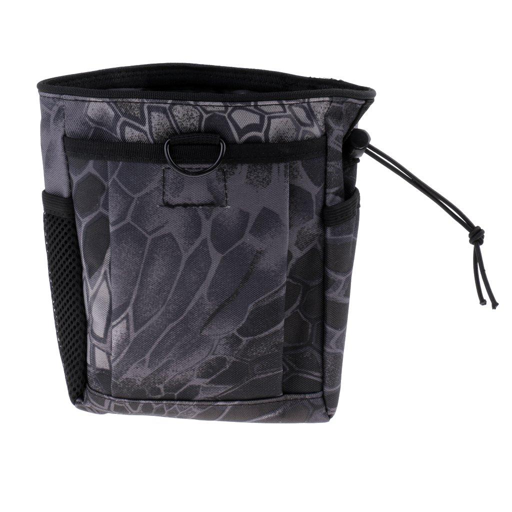 FLAMEER T/áctico De Nylon MOLLE Drawstring Magazine Dump Drop Bolsillo Bolsa Exterior