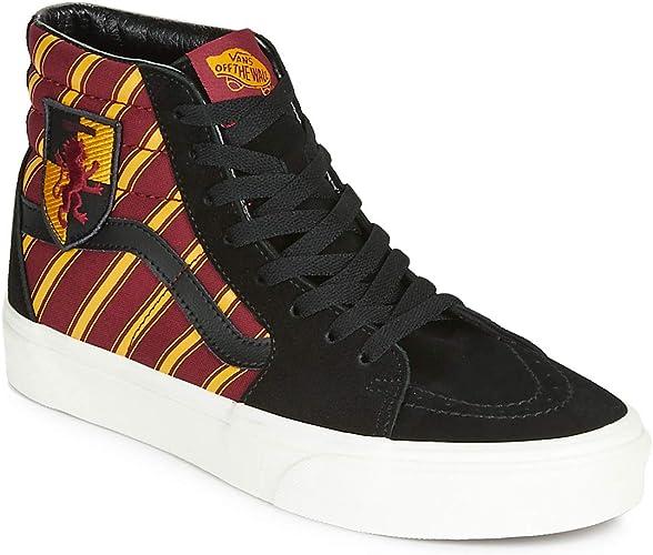 Vans Harry Potter SK8 HI Sneaker Herren SchwarzRotGelb Sneaker High