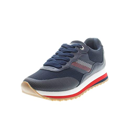 Zapatillas Tommy Hilfiger Corporate Marino Mujer: Amazon.es: Zapatos y complementos