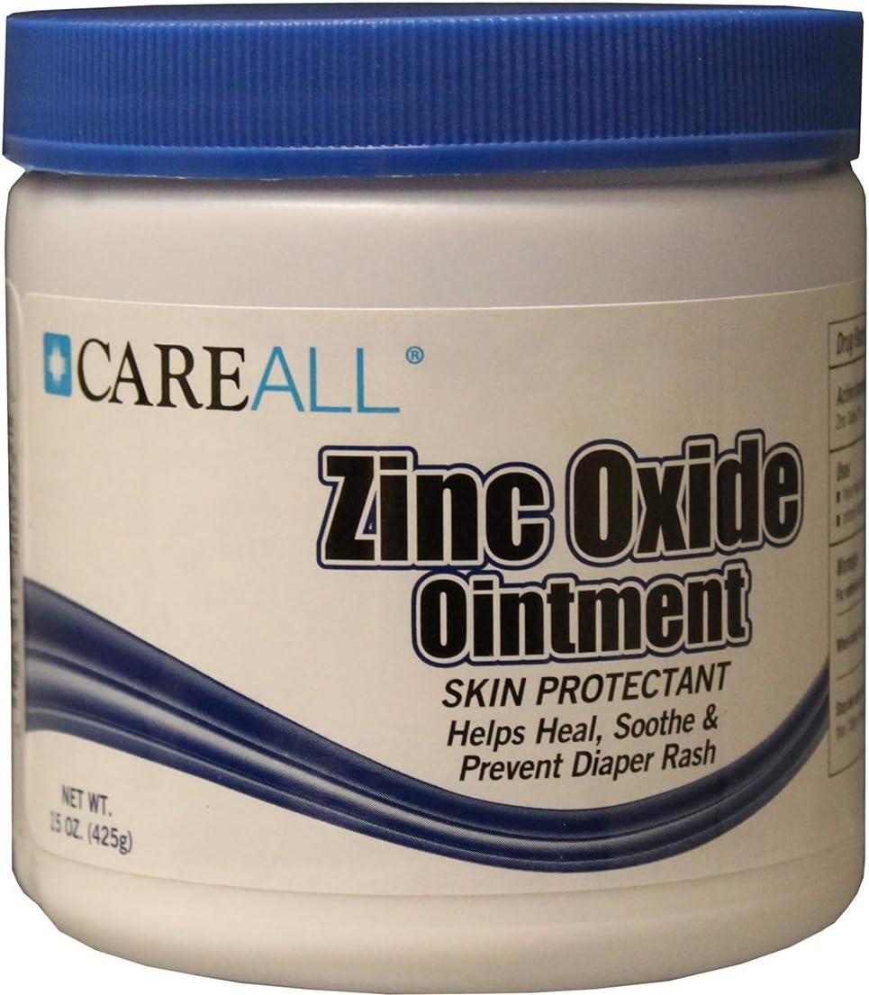 15 Oz Careall Zinc Oxide Jar Case Pack 12