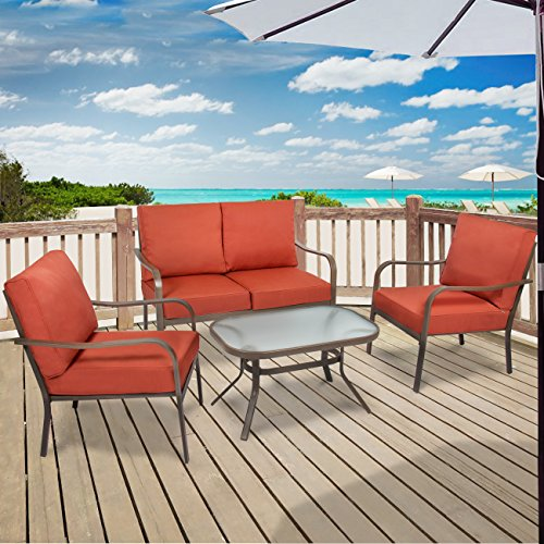 best-choice-products-4-piece-cushioned-patio-furniture-set-w-loveseat-2-chairs-coffee-table-red