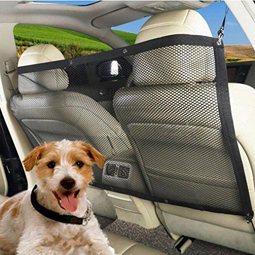 Infrared Oxfords (Fabal Car Auto Back Guard Seat Dog Children Pet Mesh Safety Oxford Net Barrier (Black))