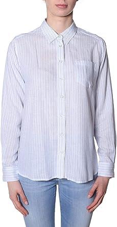 Pepe Jeans Camisa Mikami Rayas Mujer XL Blanco: Amazon.es: Ropa