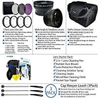 Pixi Pro Accessory Package For AF-S DX NIKKOR 55-300mm f/4.5-5.6G ED Vibration Reduction Zoom Lens with Auto Focus