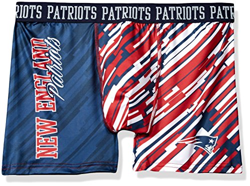 New England Patriots Wordmark Underwear Large