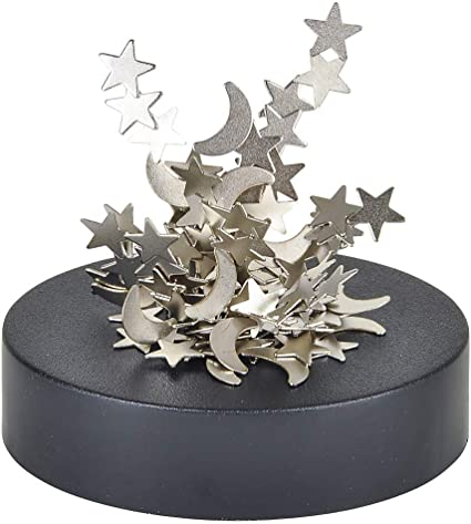Moon Stars Magnetic Sculptures Desk Toy Home Office Science Gadget