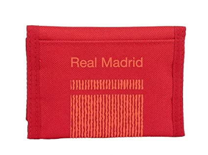 Safta Real Madrid - Billetera, Rojo, 13 cm: Amazon.es: Equipaje