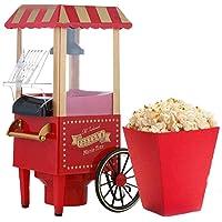 Nostalgia - Máquina de palomitas de maíz retro para hacer palomitas de maíz, máquina para hacer palomitas de maíz para…