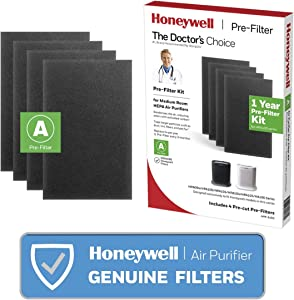 Honeywell HRF-A100 Pre Kit air Purifier Filter, Black