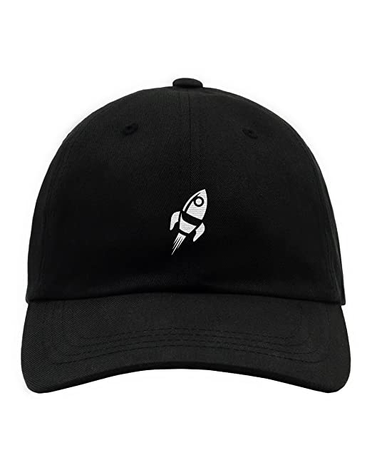 5e83f497b INTO THE AM Embroidered Low Profile Cotton Dad Hats (Unstructured)