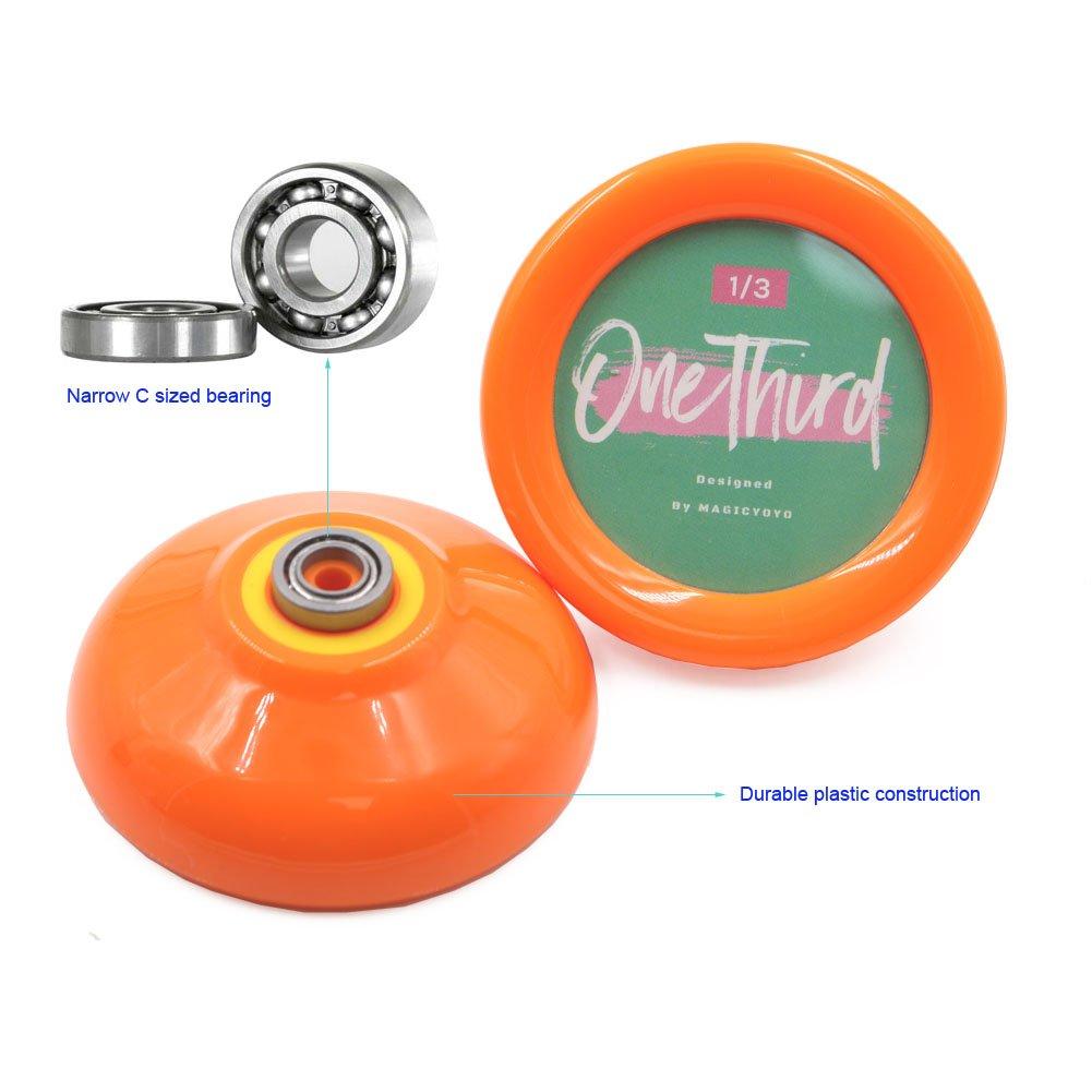 3 Jojo Strings Orange Looping 2A YOYO MAGICYOYO D2 OneThird Responsive Yo-Yos Anf/änger
