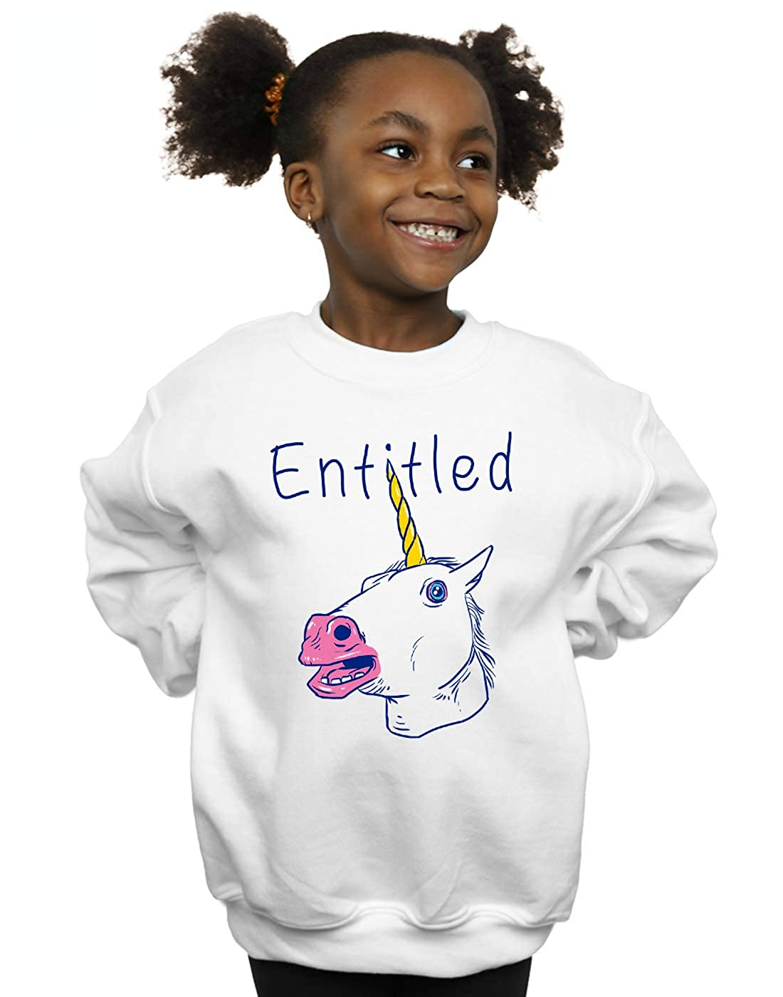 Vincent Trinidad Girls Entitled Unicorn Sweatshirt