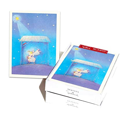 Hallmark Christmas Boxed Cards Bulk Set Of 32 Holiday Greeting Cards And Envelopes Joy