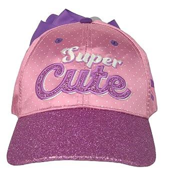 3641411a285 Jojo Siwa JoJo Bows - Girls Pink Baseball Cap   Purple Bow Super Cute   Slogan
