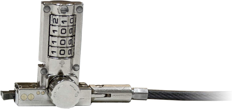 Noble Locks TZ03TC Ultra Compact Wedge 4 Digit Combo Lock for Dell Latitude Laptops
