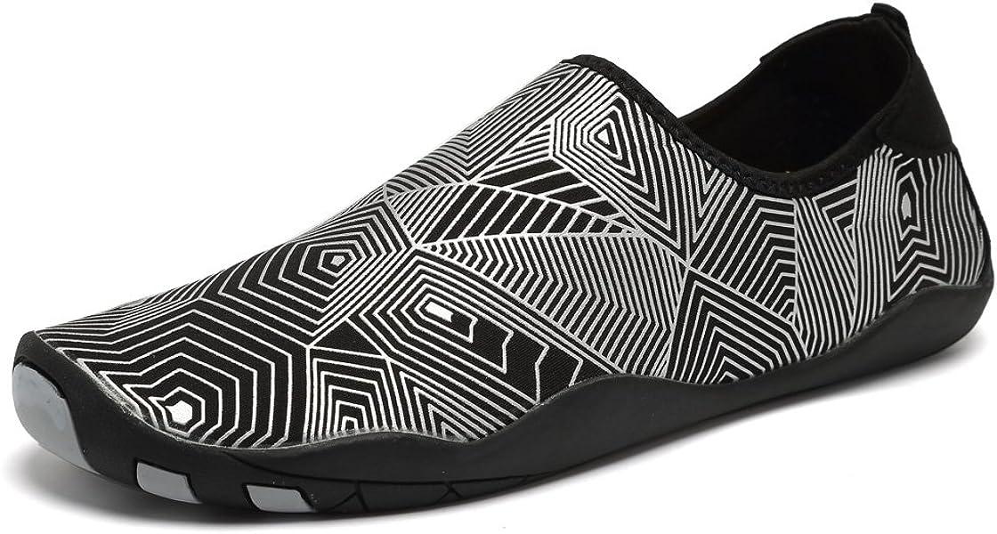 3133d62383f0 CIOR Water Shoes Men Women Aqua Shoes Barefoot Quick-Dry Swim Shoes with 14  Drainage