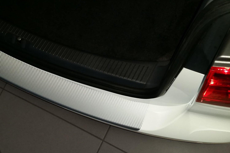 Ladekantenschutz 160/µm 3D Carbon schwarz Lackschutzshop Schutzfolie in 3D Carbon Black passend f/ür Fahrzeug Modell Siehe Beschreibung Lackschutzfolie