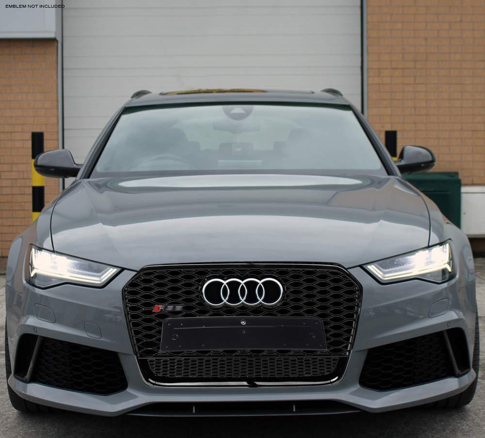 Amazon com: VXMOTOR for 2012-2015 Audi A6 C7 Black Chrome RS