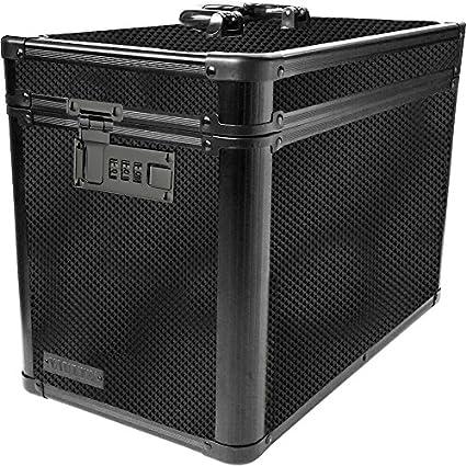 Amazon Com Vaultz Locking Ammo Box With Tether 10 X 7 88 X 14 25