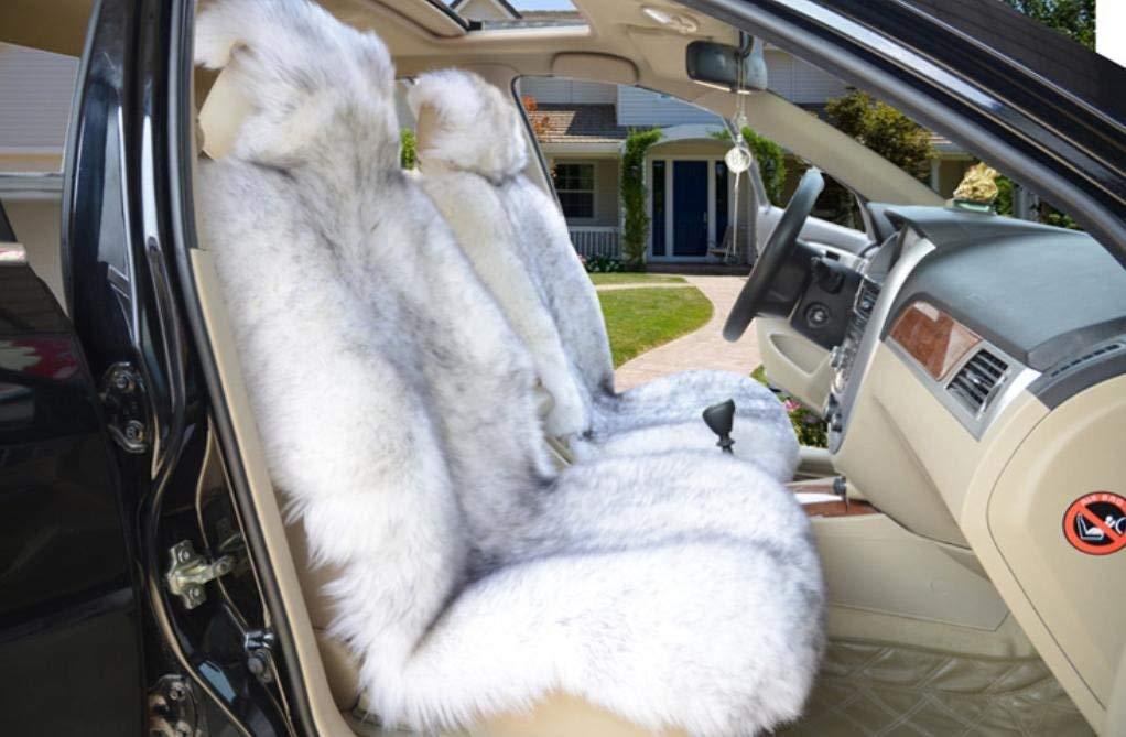 カーカーシートプロテクター用シートカバー カーシートセットピュアウールユニバーサル5ウールクッション四季10色オプション カーシートクッションカーシートマット (色 : #35)