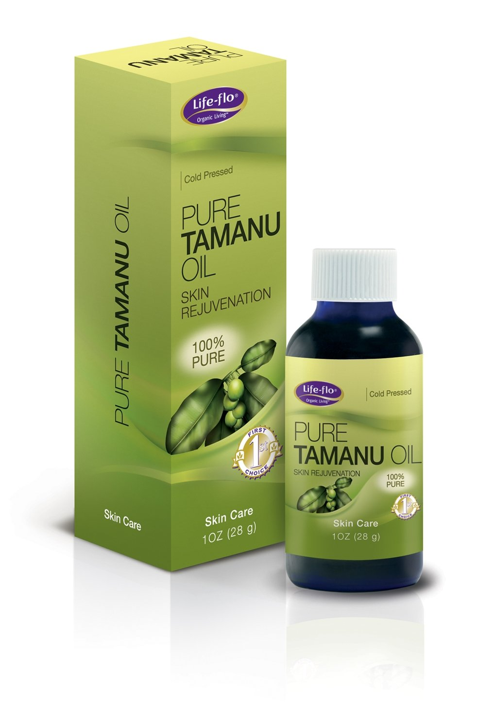 Life-Flo Pure Tamanu Oil, 1-Ounce LA-AM-KO