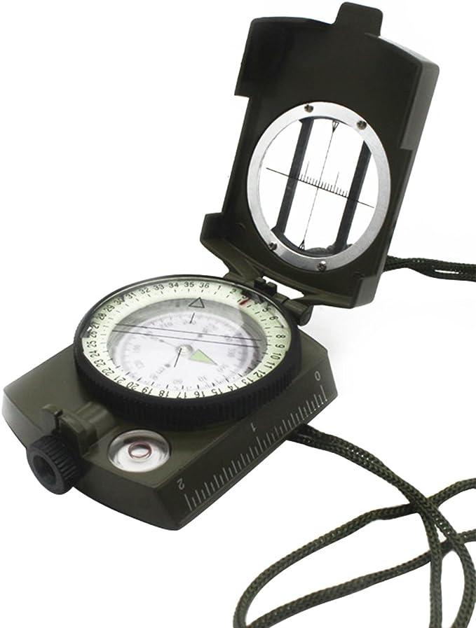 uu19ee Landnics Compass, brújula Impermeable de navegación para ...