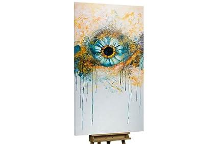 Dipinti Murali E Pittura Ad Ago : Stravagante dipinto ad olio kunstloft iris in cm tele