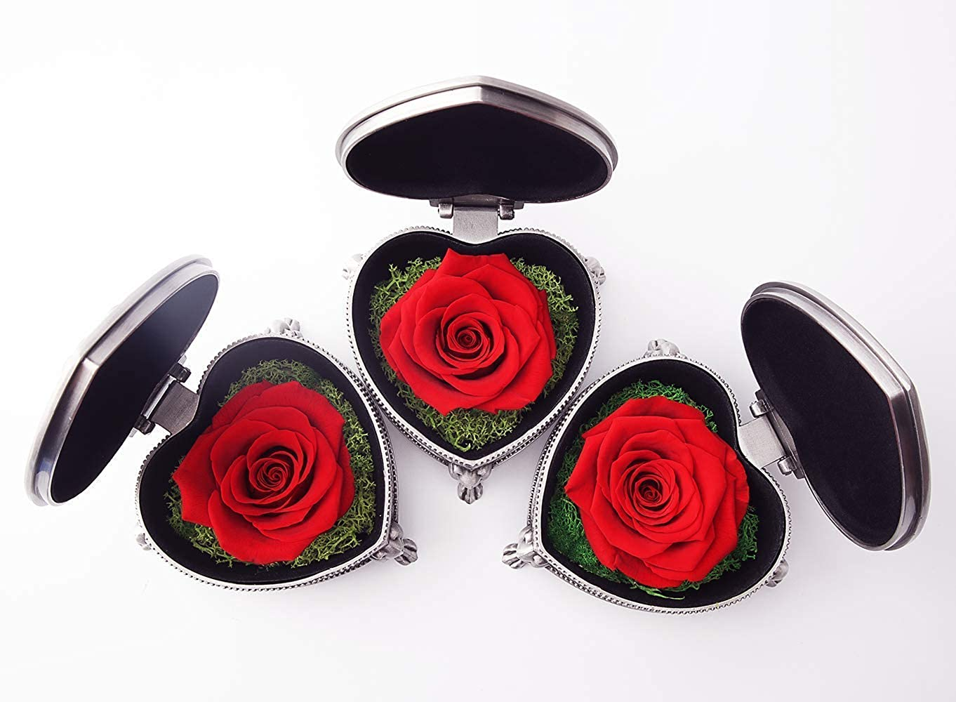 Mothers Day Girlfriend Sister Girls IDOXE Handmade Preserved Flower Rose,Never Withered Roses for her
