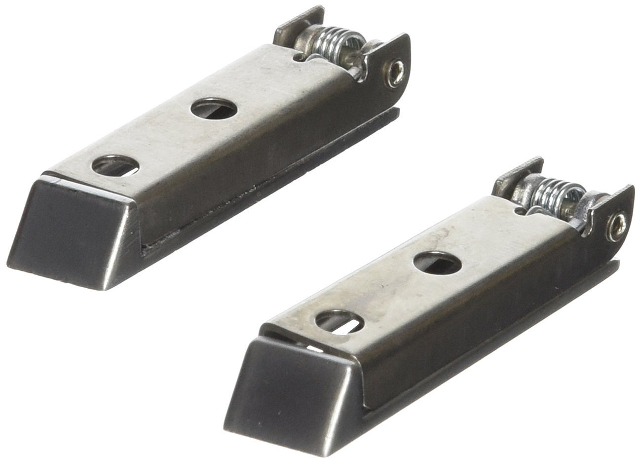 Squared Baggage Door Catch - Stainless Steel, Set of 2