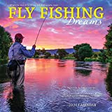 Fly Fishing Dreams 2020 12 x 12 Inch Monthly Square Wall Calendar by Wyman Publishing, River Lake Outdoor Sport