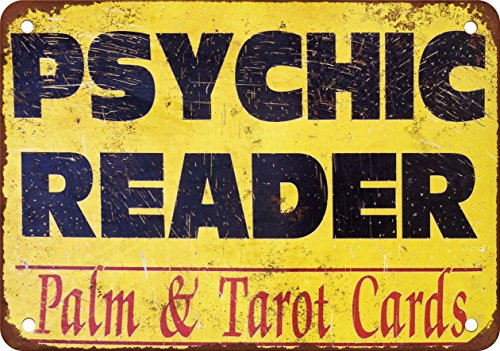 - Psychic Reader Palm and Tarot Cards - Vintage Look Reproduction (Weatherproof Card Reader)