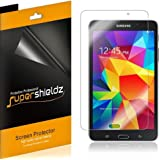 [3-Pack] Supershieldz- High Definition Clear Screen Protector For Samsung Galaxy Tab 4 7.0 inch + Lifetime Replacements Warranty [3-PACK] - Retail Packaging