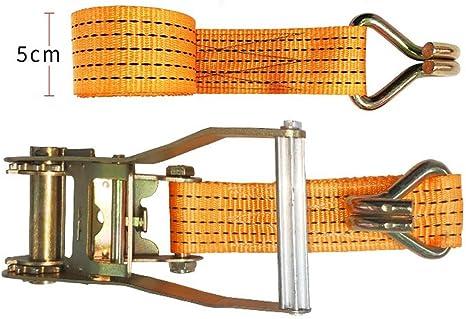 Correas de trinquete Garra Ganchos 4 X 25 mm Para Correas Y Amarillo Pasivado