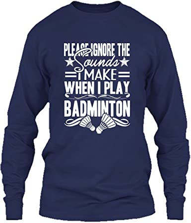 Badminton T Shirt I Play Badminton Cool T Shirts Design Amazon Com
