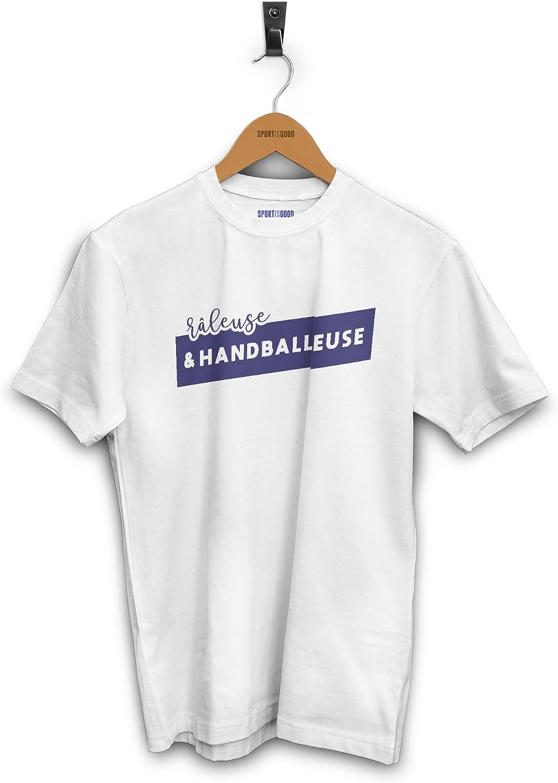 Sport is Good T-Shirt Femme R/âleuse et handballeuse
