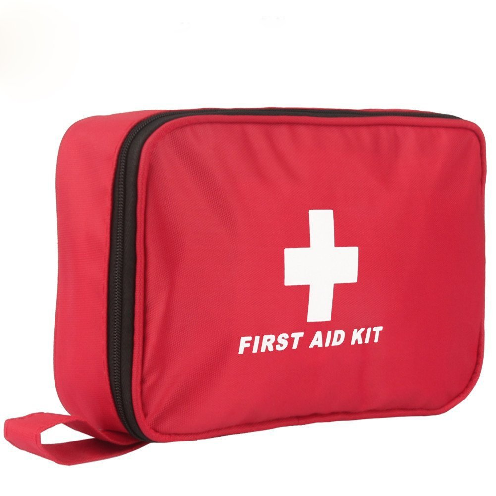 First Aid Kit, 180 PCS Emergency First Aid Kit Medical Supplies Trauma Bag Safety First Aid Kit for Sports/Home/Hiking/Camping/Travel/Car