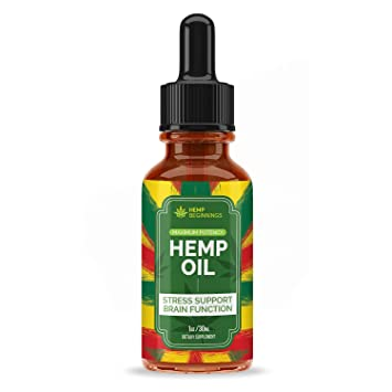 Hemp Oil Extract for Pain, Anxiety & Stress Relief - 2500mg - Blue Dream -  Grown & Made in USA -