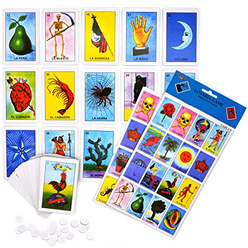 Amazon.com: Loteria Game - Mexican Bingo - 10 Players, 54 ...