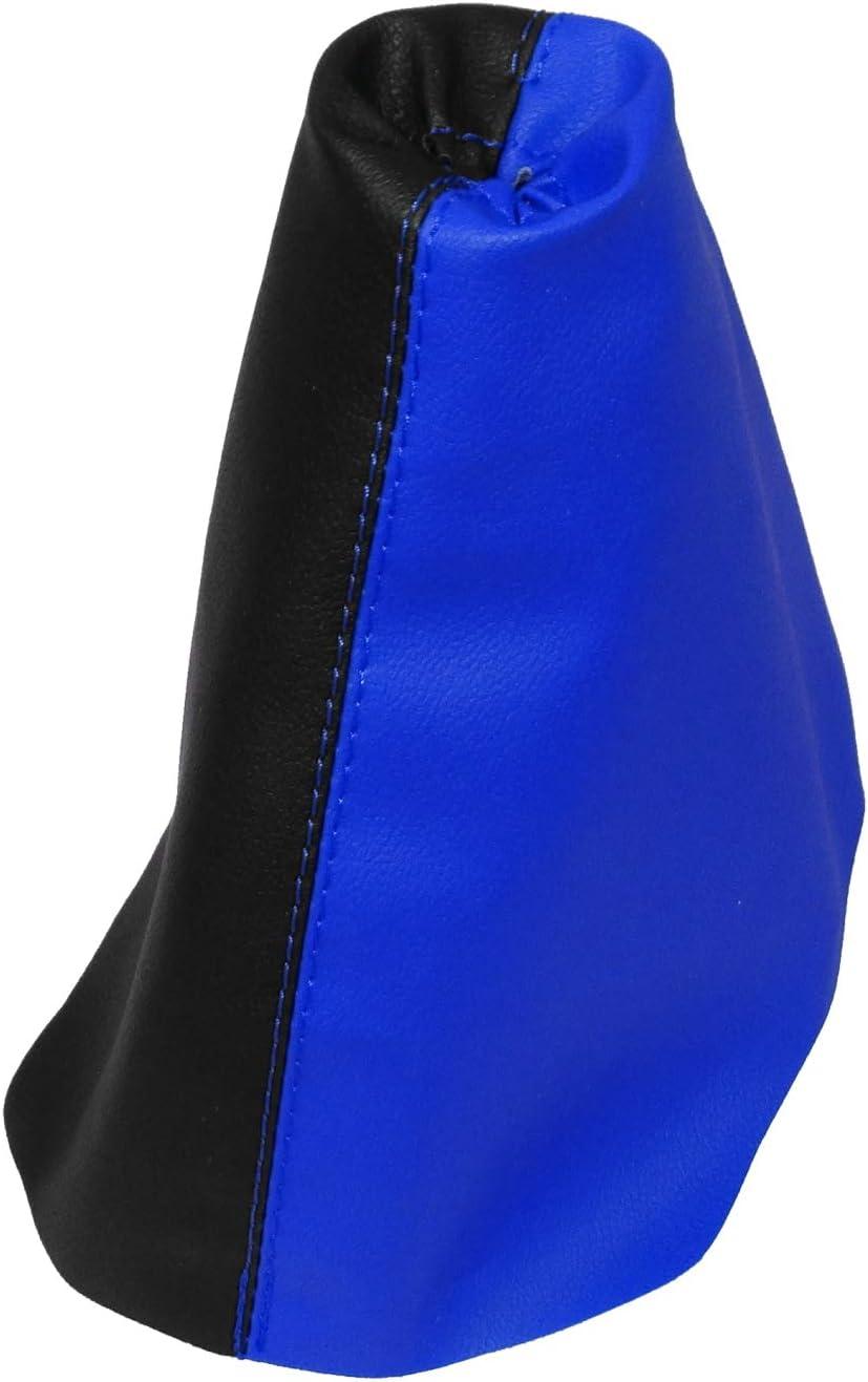 AERZETIX Soufflet de levier de vitesse en simili cuir avec couture//surpiq/ûres couleurs variables gris fonc/é
