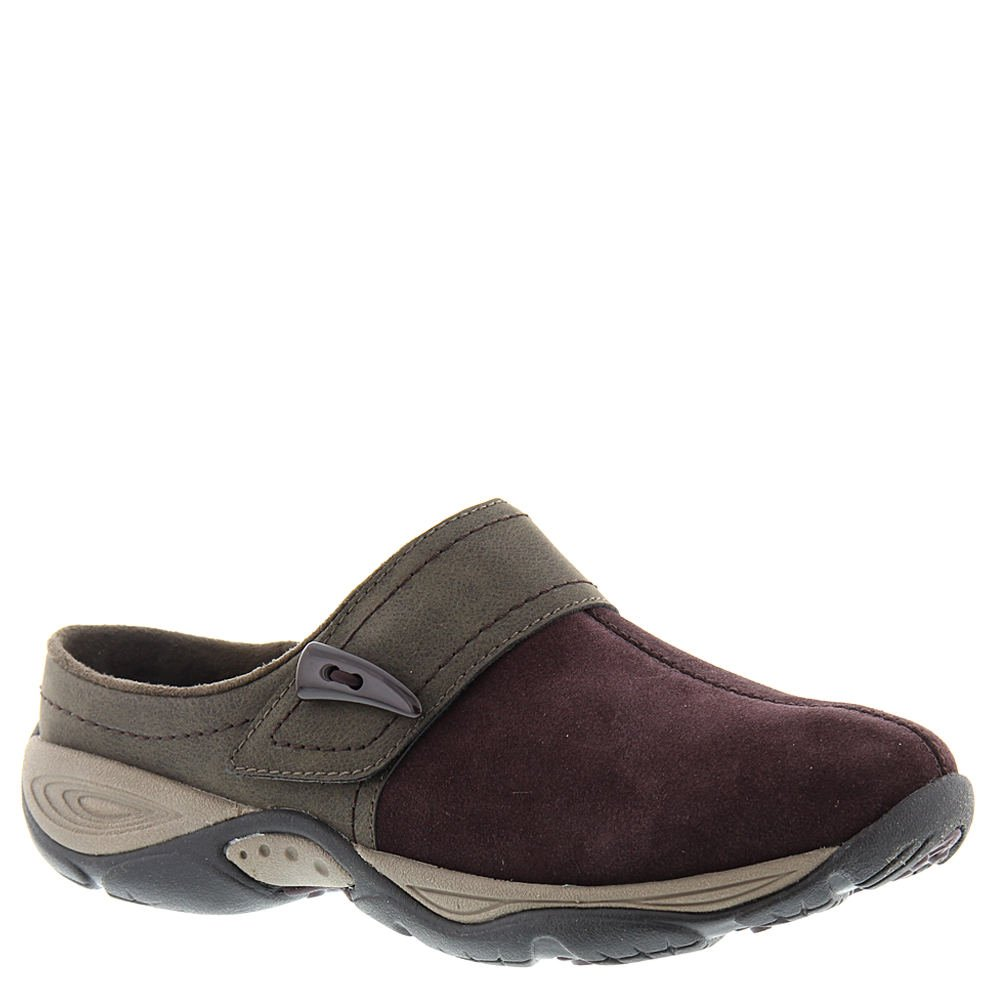 Easy Spirit Women's Eliana Mule Dark Purple/Brown Suede Style 25020694, 6.5M