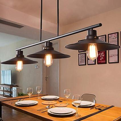 Lampadari Meters Lampada Da Tavolo Industriale Retro Vento Lampada Da Tavolo Da Biliardo Creative 3 Amazon It Casa E Cucina