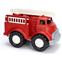 Green Toys Fire Truck, Red FFP - Pretend Play, Motor Skills, Kids Toy Vehicle. No BPA, phthalates, PVC. Dishwasher Safe…