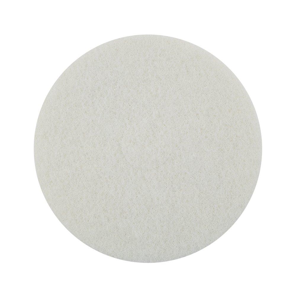 Mercer Industries 45016W Floor Maintenance Pads, 5 Pack, 16'', White