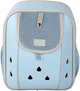 MAOSHE Deluxe Pet Carrier Backpack for Small Cats and Dogs, Puppies   Ventilated Design, Two-Sided Entry, Safety Features and Cushion Back Support   for Travel, Hiking, Outdoor Use