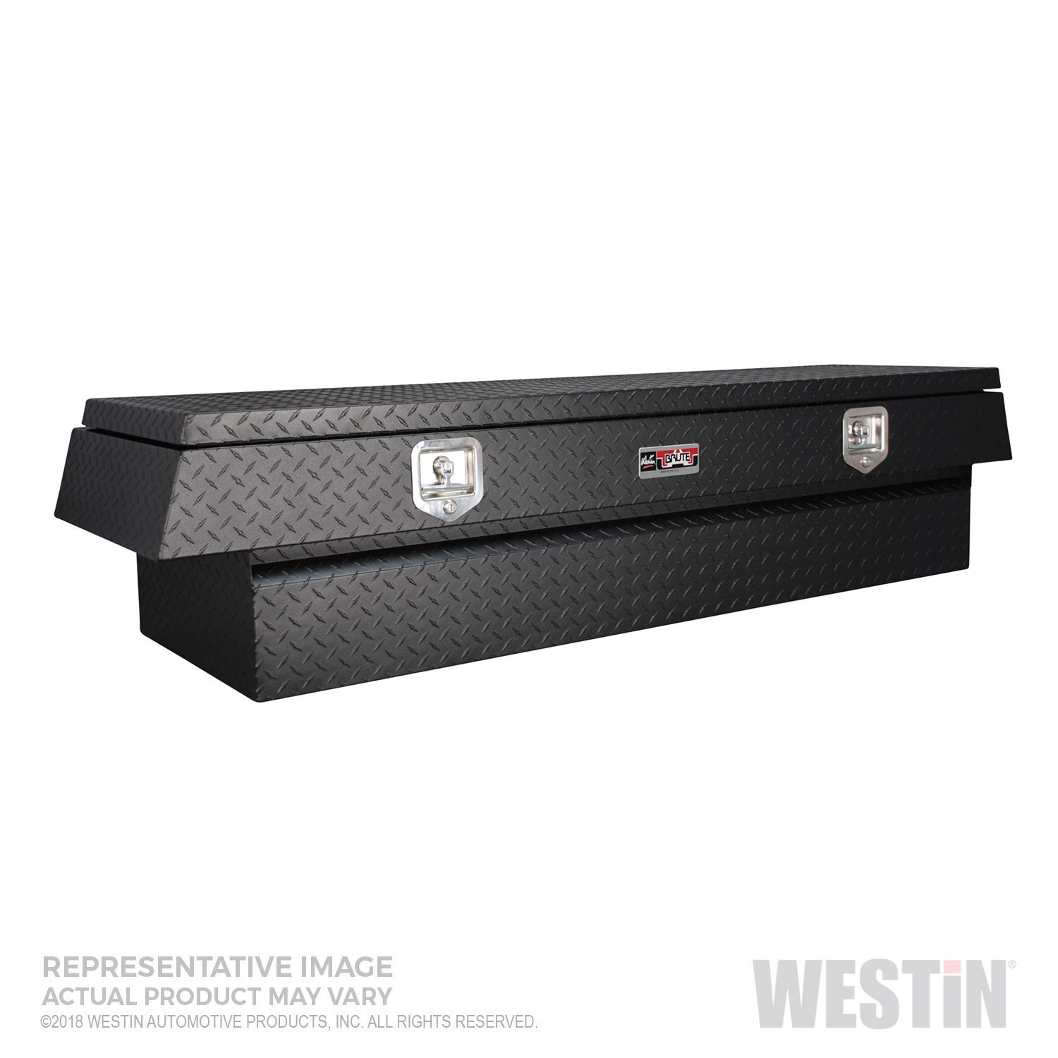 Brute BRTBX Underbody 24in x 20in w//Top Drawer Westin 80-UB24-20TD-BT Textured Black Tool Box