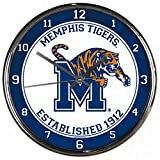 WinCraft NCAA Memphis Tigers Chrome Clock