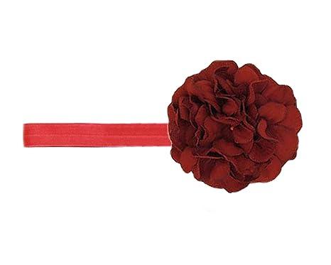 f23f93f4f37 Jamie Rae Hats- Red Flowerette Burst Headband with Red Large Geraniums