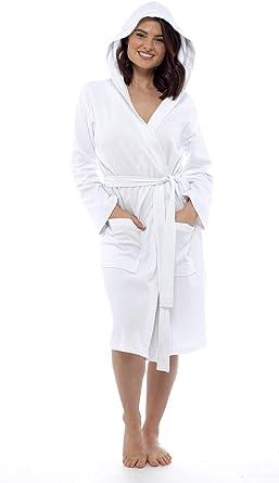 CityComfort Bata de algodón Puro Bata de Mujer Gofono Kimono Ligero para Mujer Traje: Amazon.es: Ropa y accesorios