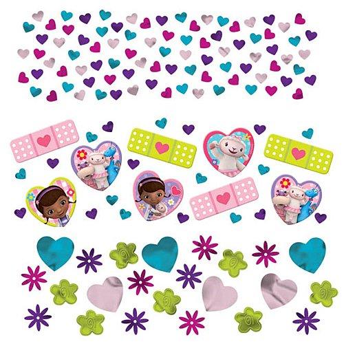 Doc McStuffins Confetti Birthday Party Value Pack Decoration