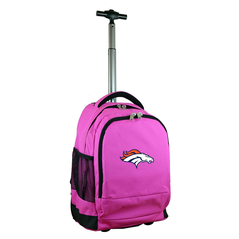 (Denver Broncos) - NFL Expedition Wheeled Backpack, 48cm , Pink   B01MFFQ7QH